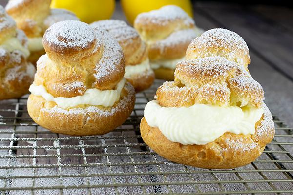 Lemon Cream Puff Recipe