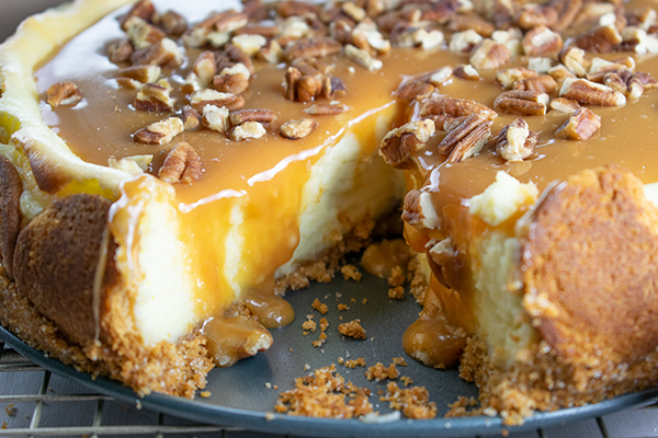 Ooey Gooey Caramel Cheesecake Recipe