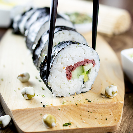 FOODIECreate a Trendy Twist on Sushi