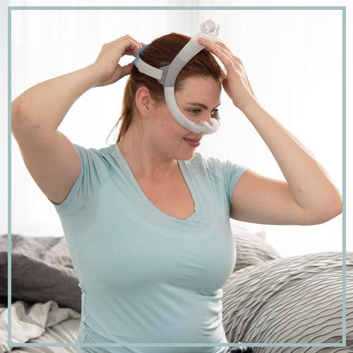 cpap nasal pillow leaks online