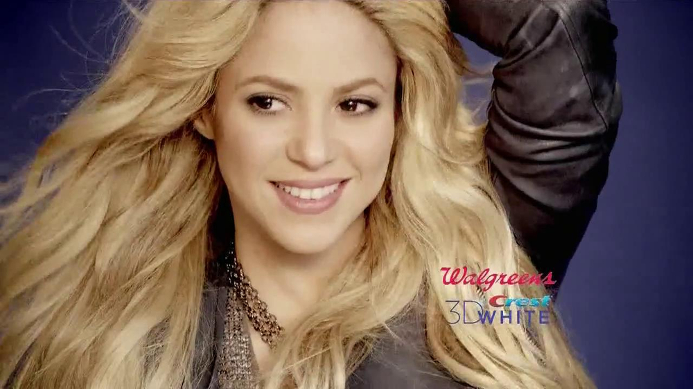 Toothpaste White 3d Crest Shakira