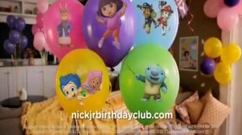 Nick Jr Birthday Club Tv Spot Ispot Tv