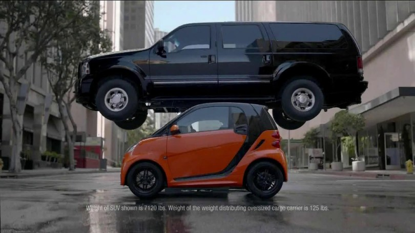 Smart Cars TV Commercial   Stacking    iSpot tv