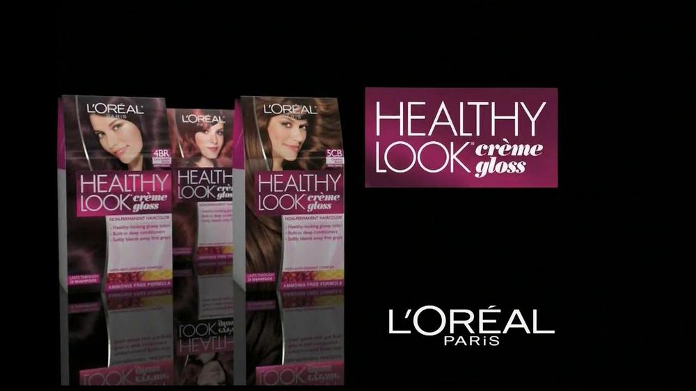 Paris Look Gloss Healthy Loreal Creme Color
