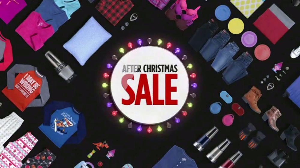 JCPenney After Christmas Sale TV Commercial Nike Apparel