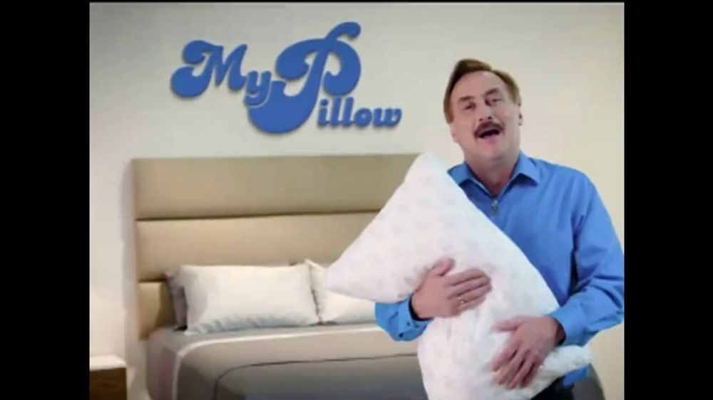 my pillow tv commercial your support 4 pack