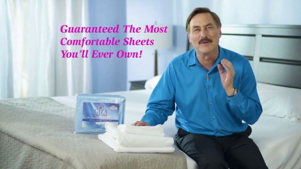 my pillow mike s christmas special tv commercial buy one get one giza dream sheets