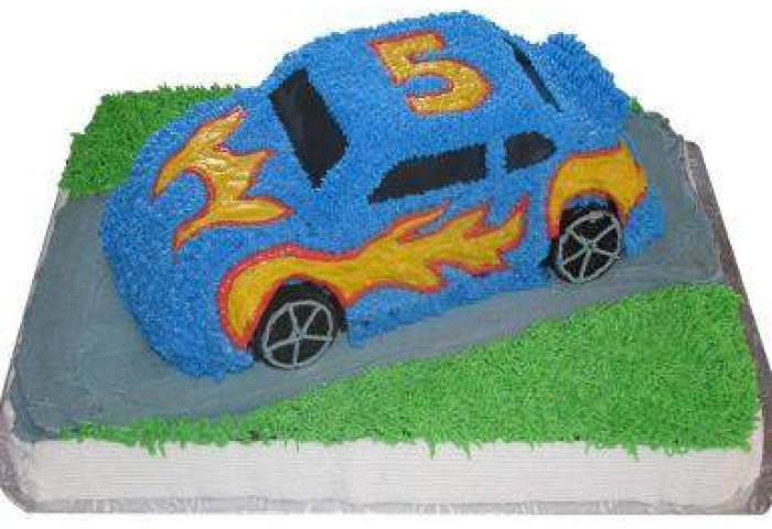 Car Shape Eggless Cake Winni
