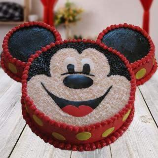 Mickey Mouse Shape Cake Winni