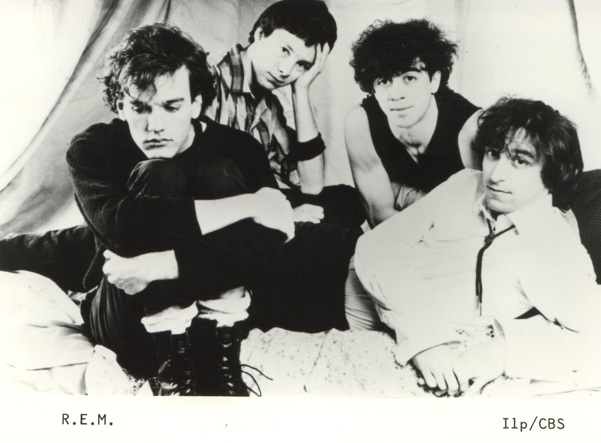 Image result for earliest photo of R.E.M