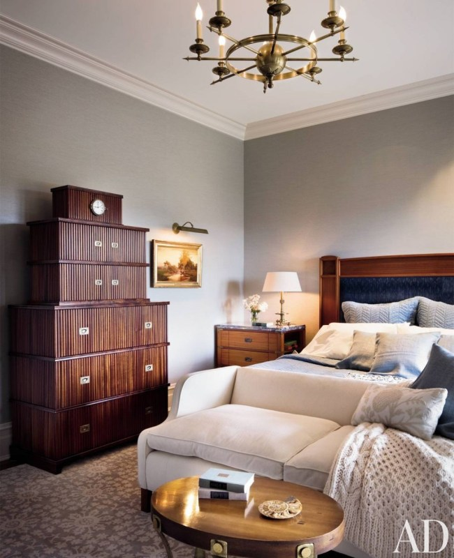 Traditional Bedroom by Campion Platt and Ralph R. Mackin, Jr. in Hudson Valley, New York