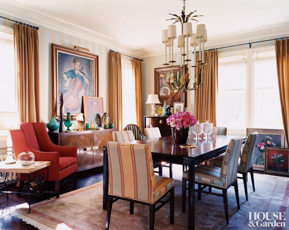 Traditional Dining Room By Architectural Digest