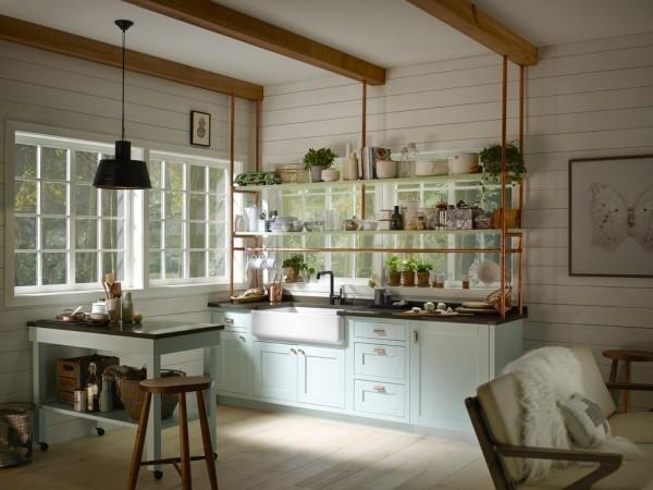 Copper Cottage Kitchen