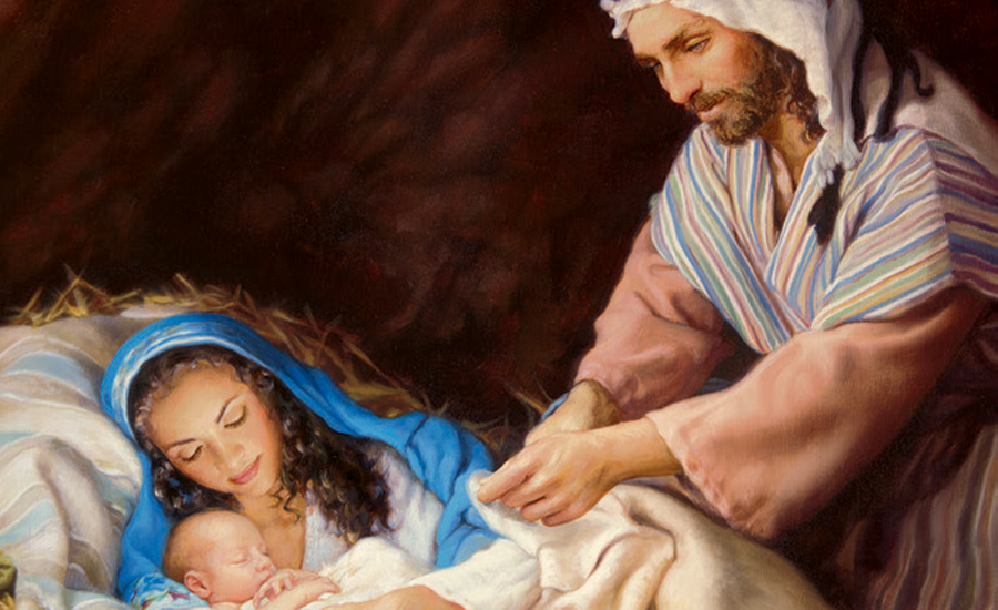 Holy Family Christmas Card Guideposts