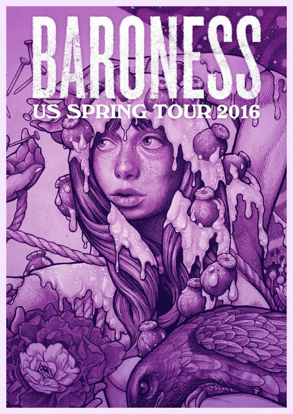 baroness purple
