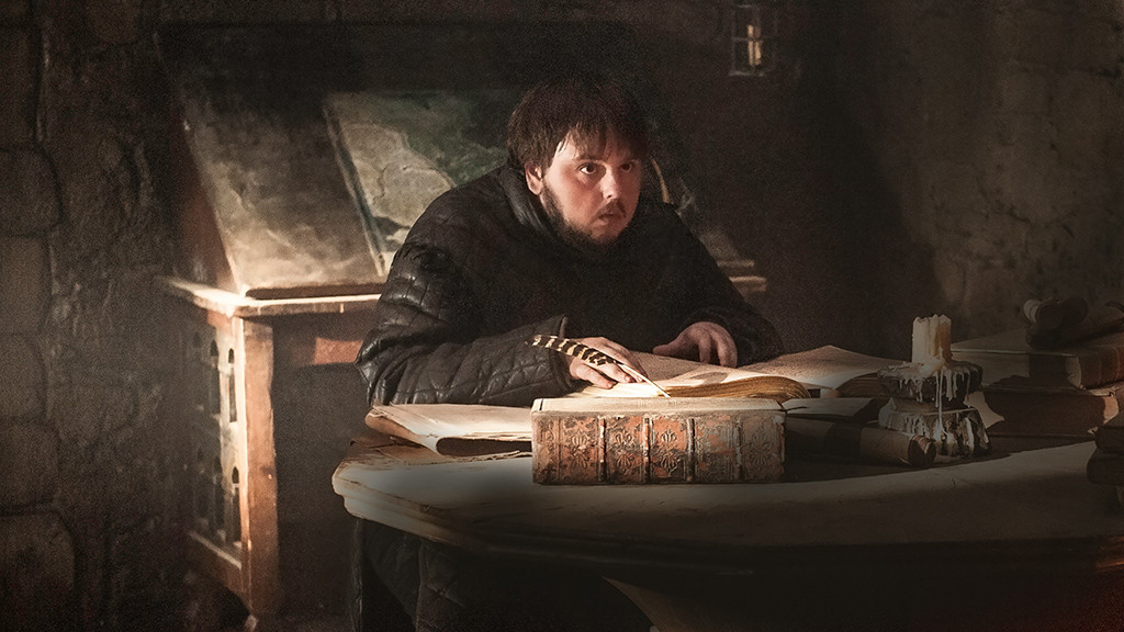 Image result for samwell tarly writing