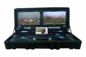 Estación base profesional para piloto y observador.
