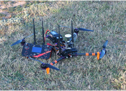 Cuadracopter + XLRS_D2