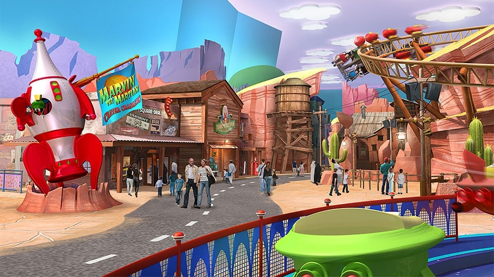 Image result for Dubai Warner Bros Fast and Furry-ous