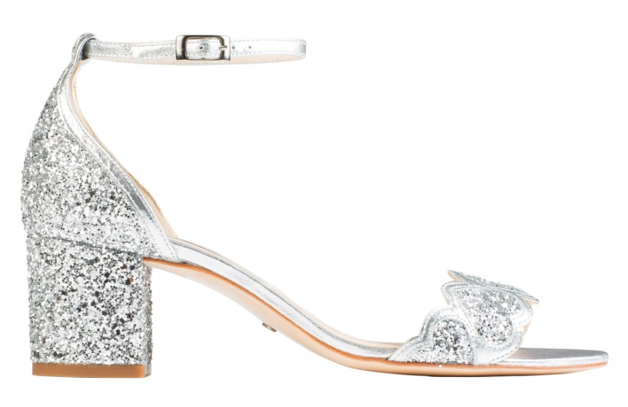 Silver Bridesmaid Shoes Dazzling Lights And Secrets In The Soles Confetti