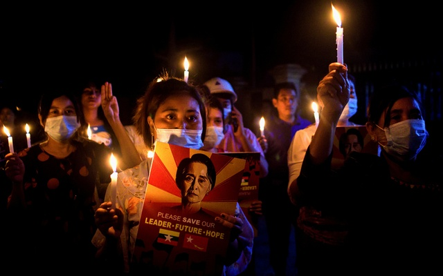 Five killed in protests in Myanmar as US and allies vow to revive democracy