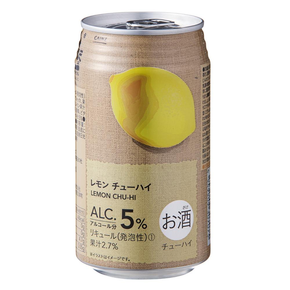 【ケース販売】レモンチューハイ 350ml×24本(350ml×24本 レモン ...