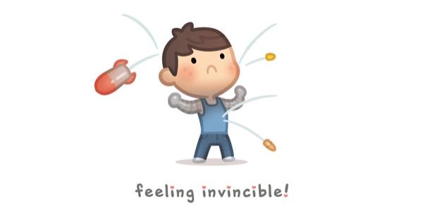 HJ-Story :: Love is.. Feeling Invincible | Tapas