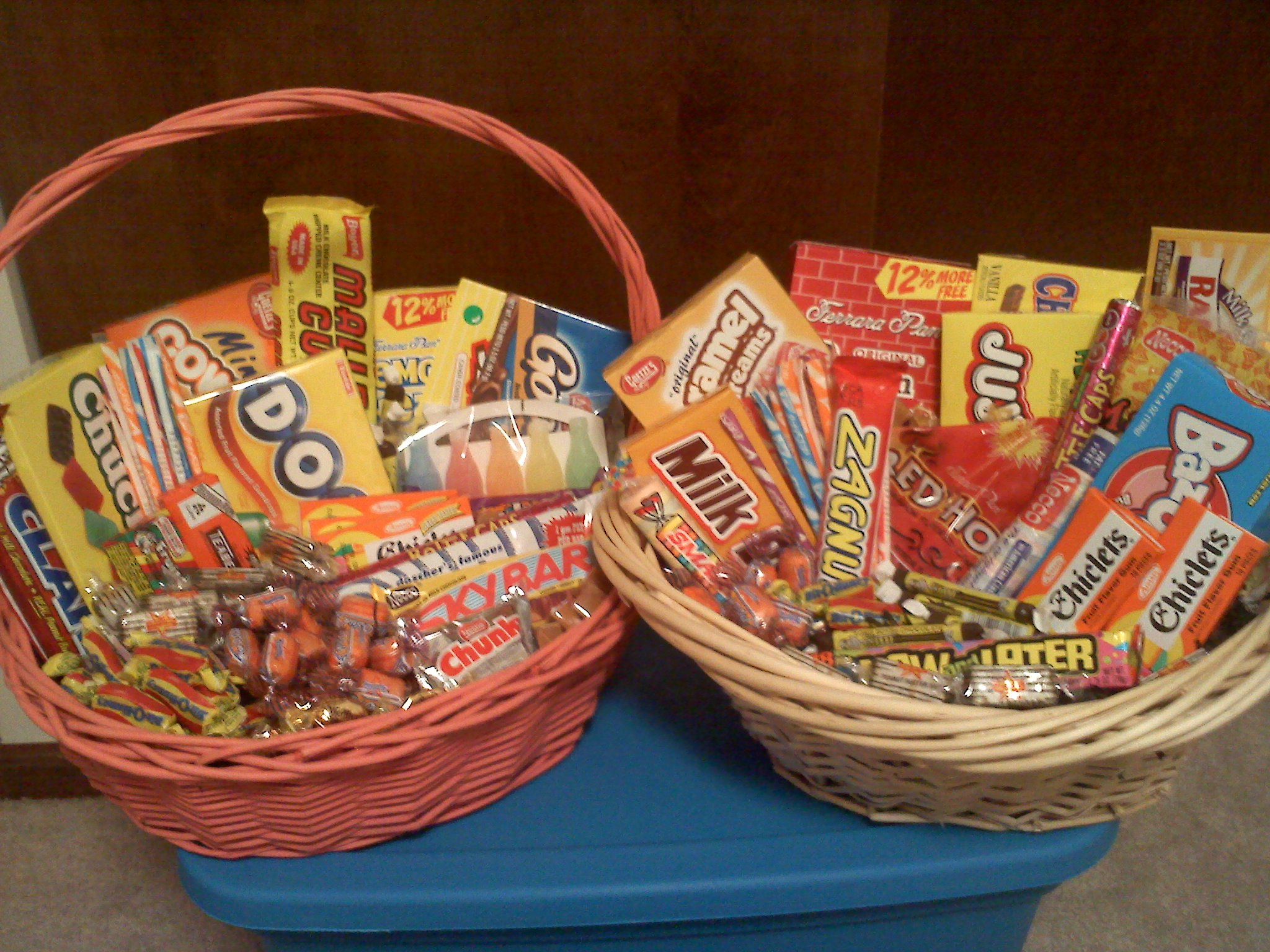 Retro Candy Gift Basket On Storenvy