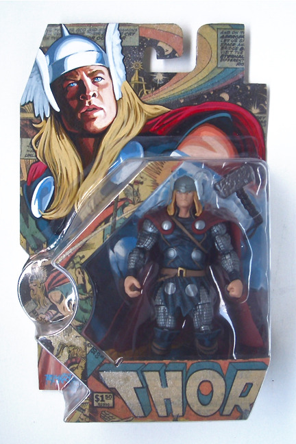 Bootleg Thor Action Figure Package On Storenvy