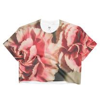 """Carnation"" Ladies Crop Top - COL x Queen Lila medium photo"
