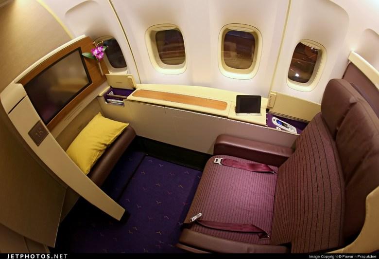 Photo of HS-TGY Boeing 747-4D7 by Pawarin Prapukdee