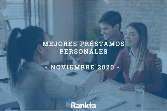Mejores préstamos personales (Noviembre 2020)