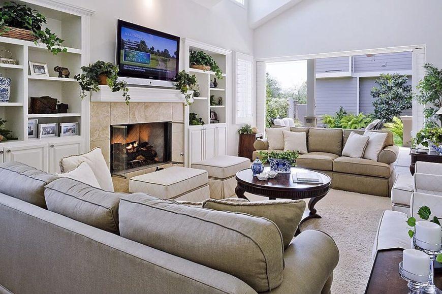 How Make Sunken Living Room