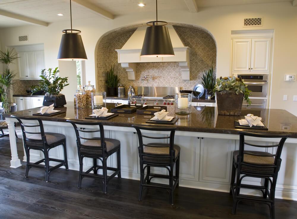 64 Deluxe Custom Kitchen Island Designs (BEAUTIFUL
