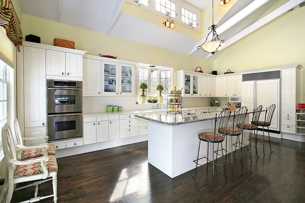 36 Brand New All White Kitchen Layouts Amp Designs Photos
