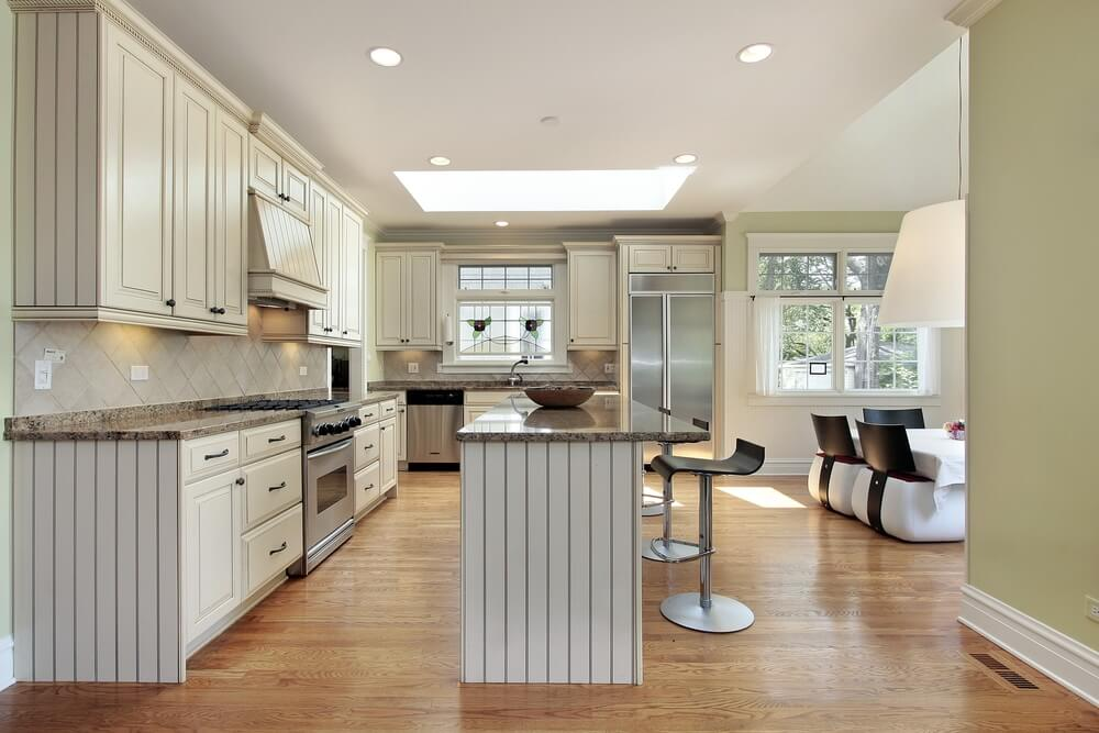 Kitchen L Shaped Room