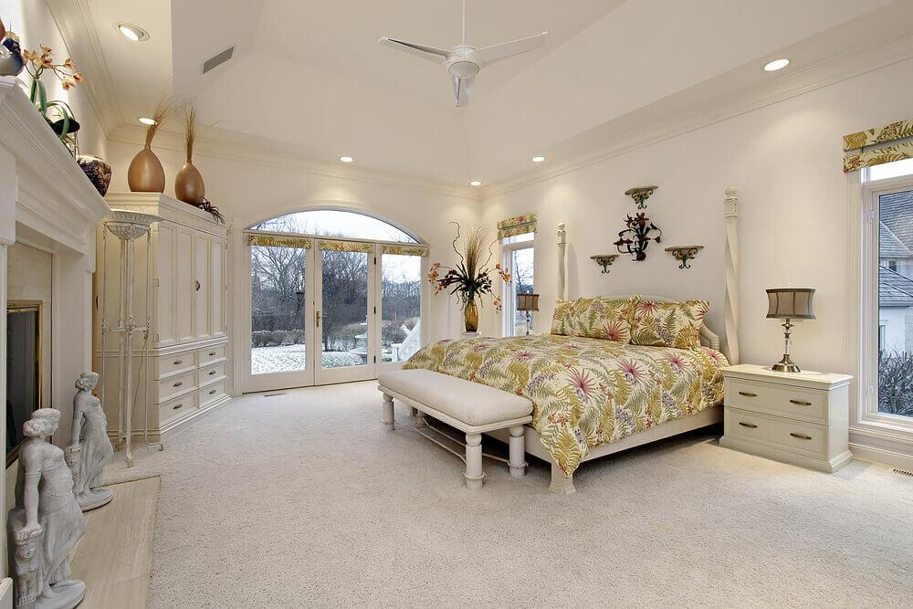 61 Bright & Cheery White Bedroom Designs