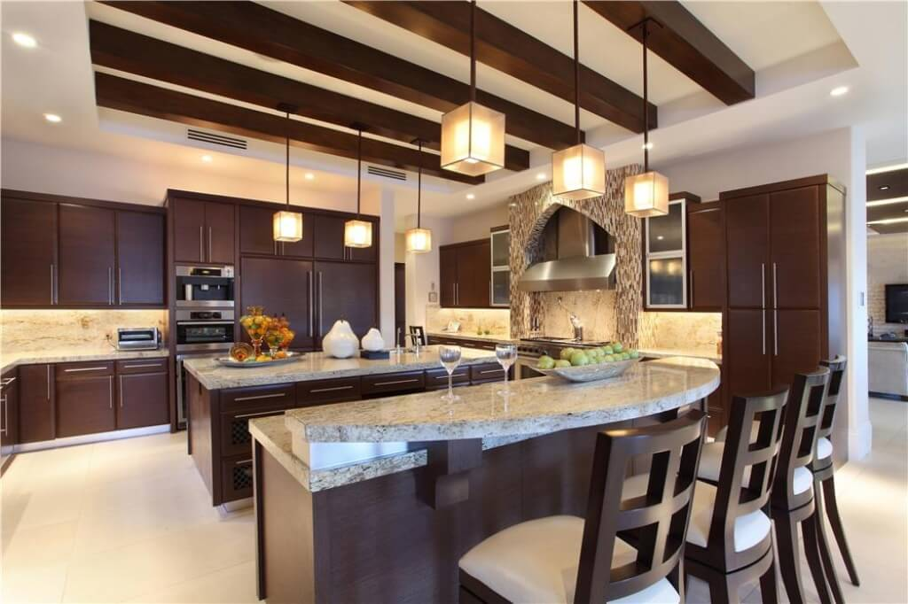 Modern Waterway Florida Mansion With An Incredible Kitchen