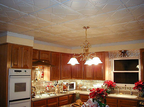 Red And Blue Country Kitchen Ideas