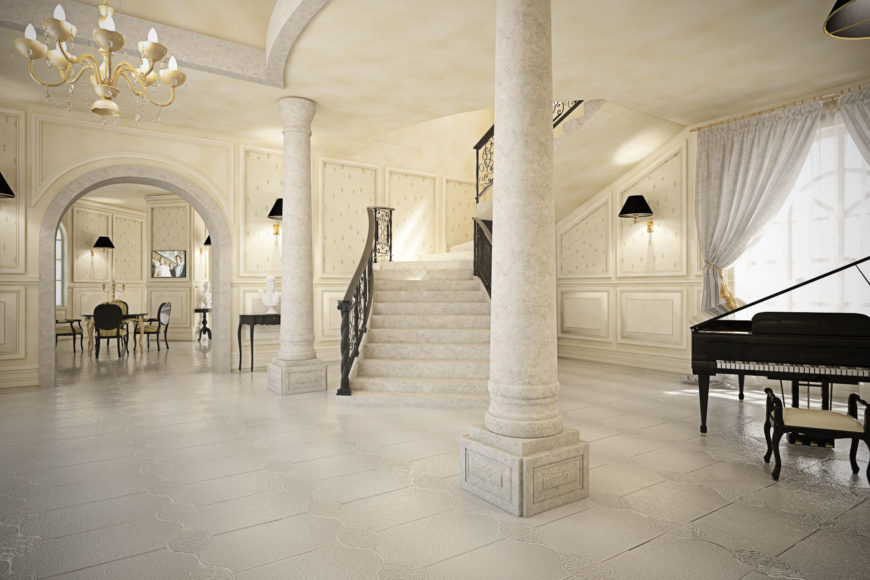Opulent Neoclassical House By Brain Factory