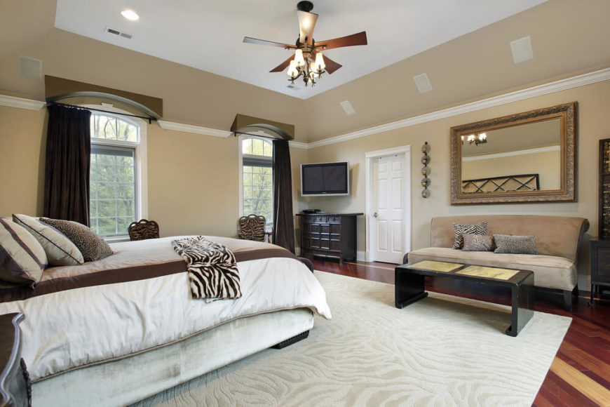 30 glorious bedrooms with a ceiling fan