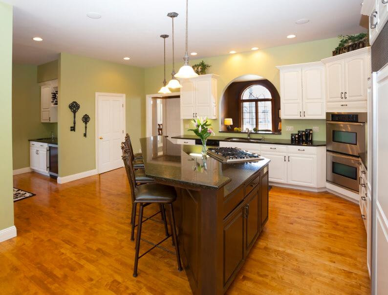 Open Kitchen With Island Diamondshaped Home Stratosphere Kotousa Com