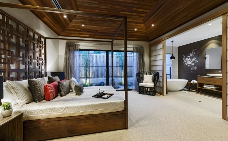 Zen Master Bedroom