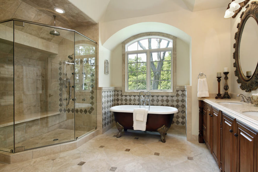 27 Relaxing Bathrooms Featuring Elegant Clawfoot Tubs  PICTURES  Welcome to our gallery of 27 Relaxing Bathrooms Featuring Elegant Clawfoot  Tubs