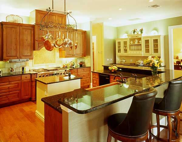 Rectangular Kitchen Layout Ideas