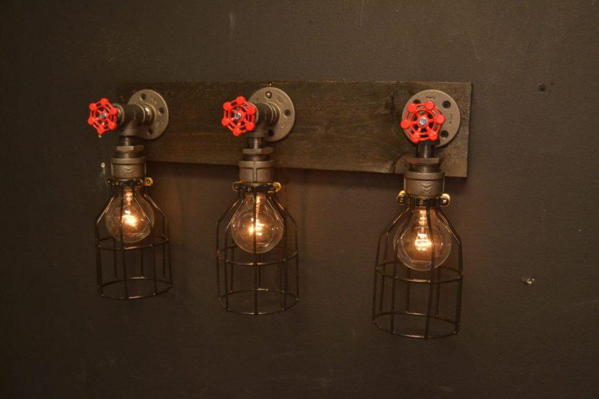 Mason Jar Light Bulb
