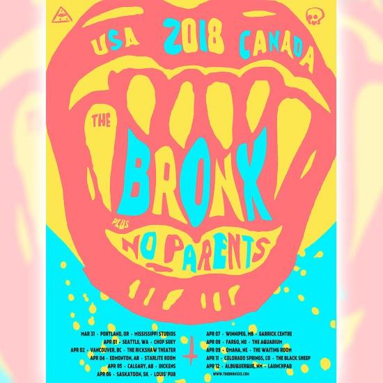 The Bronx tour poster