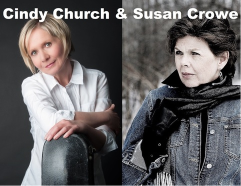 Cindy Church and Susan Crowe