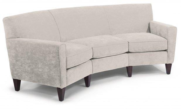 Flexsteel Curved Sofa Www Gradschoolfairs Com