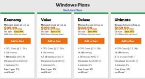 godaddy_review_windows_dedicated_web_hosting_plans